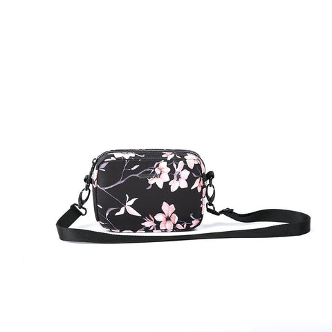 Vooray - Sidekick Black Cherry Blossom Crossbody Bag