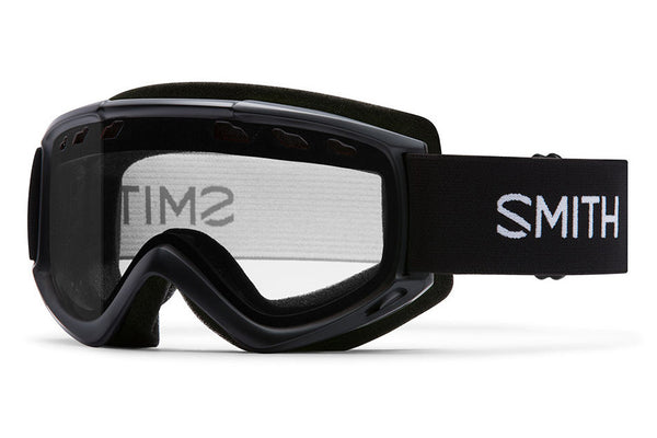 Smith - Cascade Black Goggles, Clear Lenses