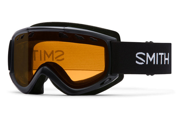 Smith - Cascade Black Goggles, Gold Lite Lenses