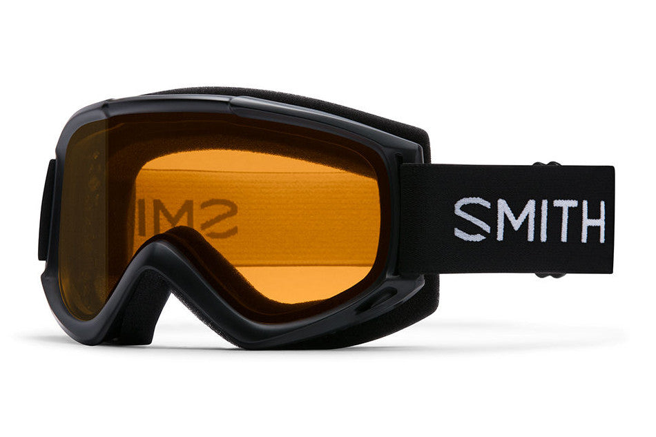 Smith Cascade - Classic Black Goggles, Gold Lite Lenses
