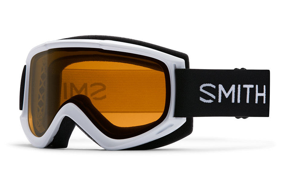 Smith - Cascade Classic White Goggles, Gold Lite Lenses