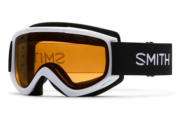 Smith - Cascade White Goggles, Gold Lite Lenses