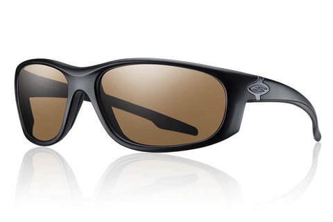 Smith - Chamber Elite Black Tactical Sunglasses, Polarized Brown Mil-Spec Lenses
