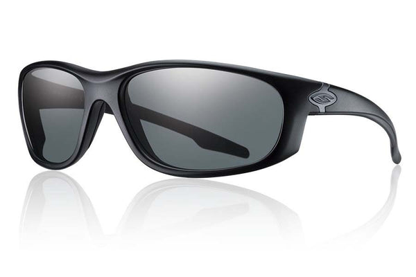 Smith - Chamber Elite Black Tactical Sunglasses, Polarized Gray Mil-Spec Lenses
