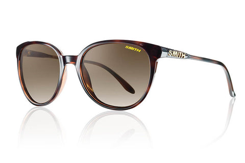 Smith - Cheetah Tortoise Sunglasses, Polarized Brown Gradient Lenses