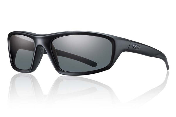Smith - Director Elite Black Tactical Sunglasses, Gray Mil-Spec Lenses