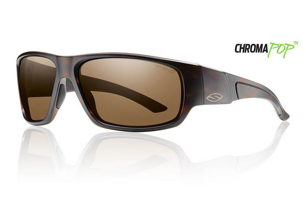 Smith Discord Matte Tortoise Sunglasses, Chromapop Polarized Brown Lenses