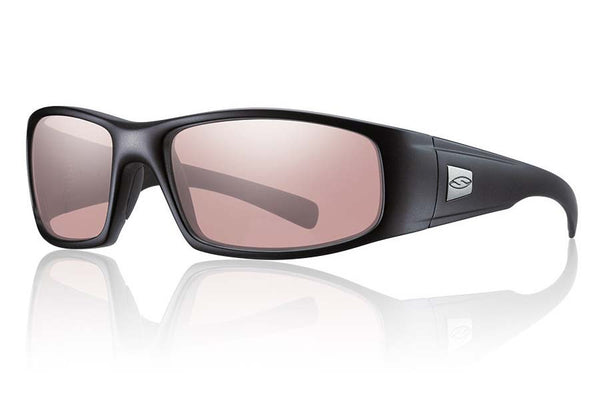 Smith - Hideout Elite Black Tactical Sunglasses, Ignitor Lenses