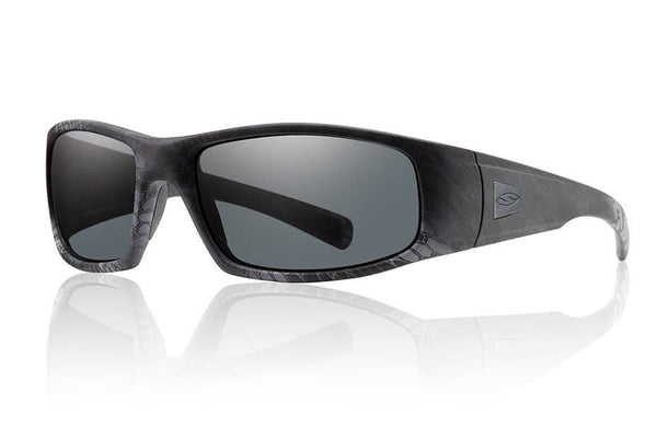 Smith - Hideout Tactical Kryptek Typhon Sunglasses, Gray Mil-Spec Lenses