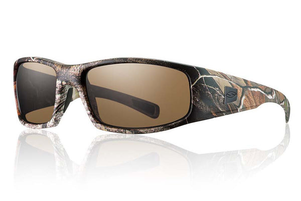 Smith - Hideout Tactical Realtree A/P Sunglasses, Polarized Brown Mil-Spec Lenses