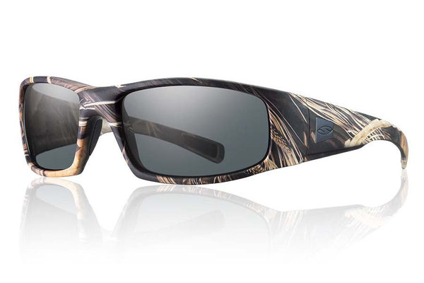 Smith - Hideout Tactical Realtree Max 4 Sunglasses, Gray Mil-Spec Lenses