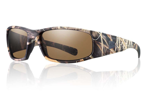 Smith - Hideout Tactical Realtree Max 4 Sunglasses, Polarized Brown Mil-Spec Lenses