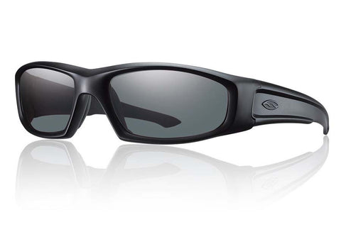 Smith - Hudson Elite Black Tactical Sunglasses, Gray Lenses