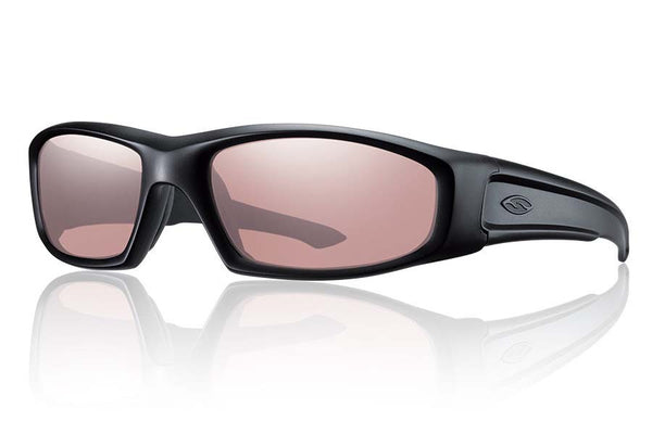 Smith - Hudson Tactical Black Sunglasses, Ignitor Mil-Spec Lenses