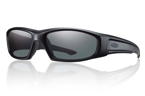 Smith - Hudson Elite Black Tactical Sunglasses, Polarized Gray Lenses