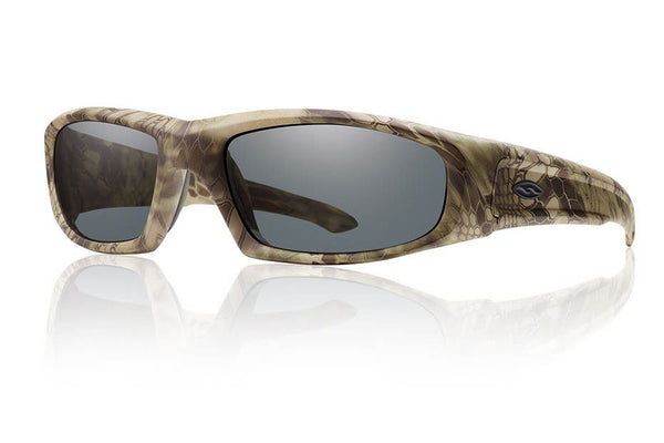 Smith - Hudson Elite Kryptek Highlander Tactical Sunglasses, Gray Lenses