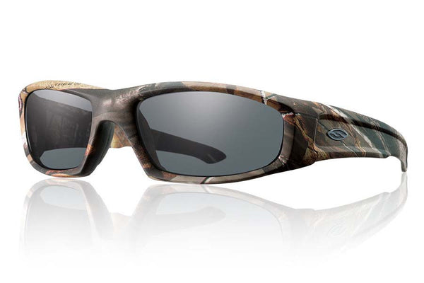 Smith Hudson Elite Realtree A/P Tactical Sunglasses, Gray Lenses