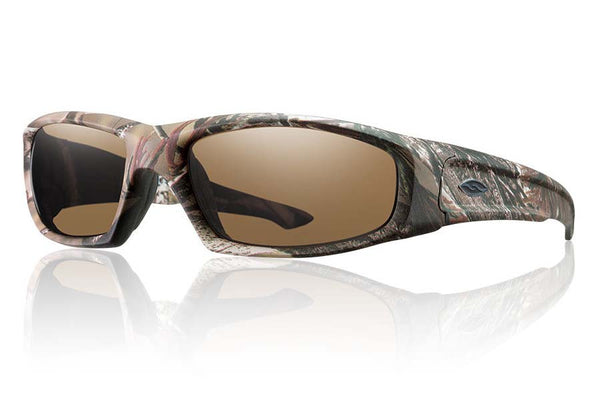 Smith - Hudson Tactical Realtree A/P Sunglasses, Polarized Brown Mil-Spec Lenses