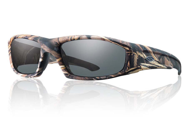 Smith - Hudson Elite Realtree Max 4 Tactical Sunglasses, Gray Lenses