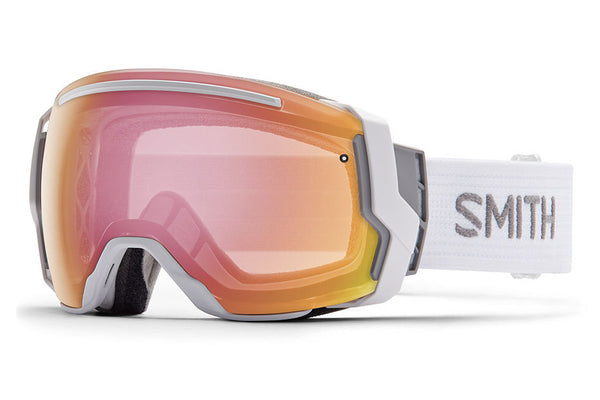 Smith - I/O7 White Goggles, Photochromic Red Sensor Lenses