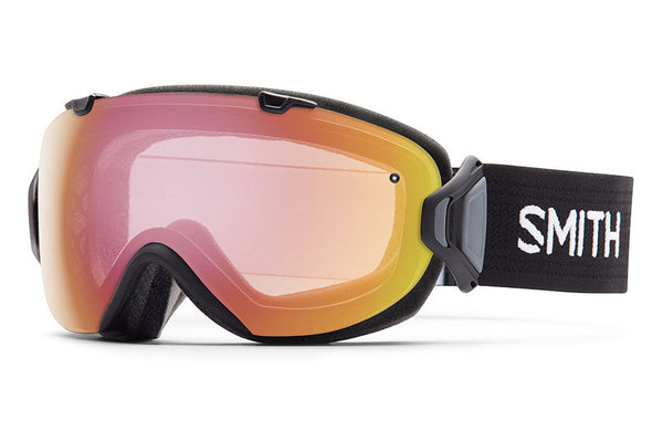 Smith - I/OS Black Goggles, Photochromic Red Sensor Lenses