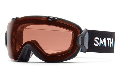 Smith - I/OS Black Goggles, Polarized Rose Copper Lenses