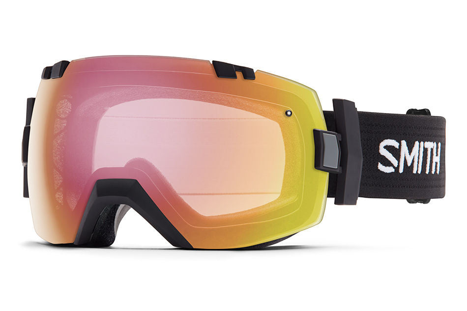 Smith - I/OX Black Goggles, Photochromic Red Sensor Lenses
