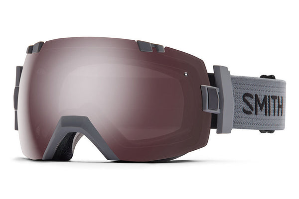 Smith I/OX Charcoal Goggles, Ignitor Mirror Lenses