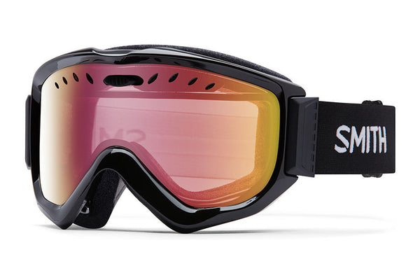 Smith - Knowledge OTG Black Goggles, Red Sensor Mirror Lenses