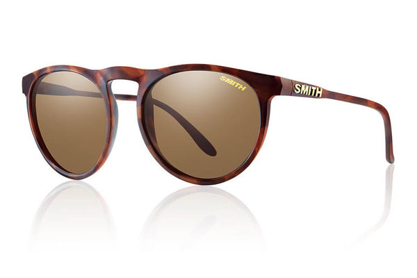 Smith - Marvine Matte Tortoise Sunglasses, Polarized Brown Lenses