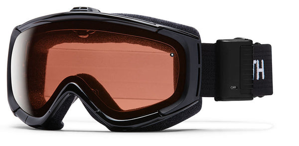 Smith - Phenom Turbo Fan Black Goggles, RC36 Lenses