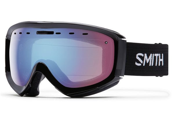 Smith - Prophecy OTG Black Goggles, Blue Sensor Mirror Lenses
