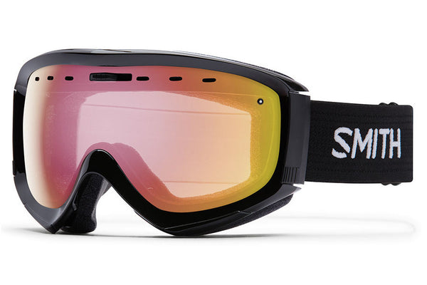 Smith - Prophecy OTG Black Goggles, Red Sensor Mirror Lenses