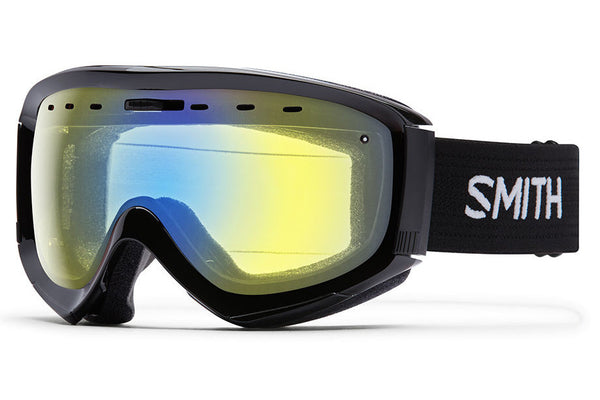Smith - Prophecy OTG Black Goggles, Yellow Sensor Mirror Lenses