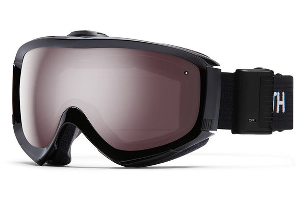 Smith - Prophecy Turbo Fan Black Goggles, Ignitor Mirror Lenses
