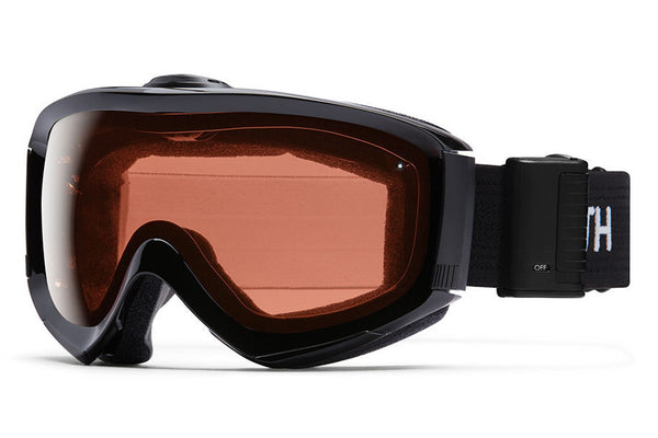 Smith - Prophecy Turbo Fan Black Goggles, RC36 Lenses