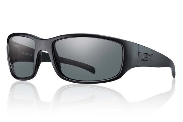 Smith - Prospect Elite Black Tactical Sunglasses, Gray Lenses