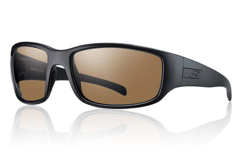 Smith - Prospect Elite Black Tactical Sunglasses, Polarized Brown Lenses