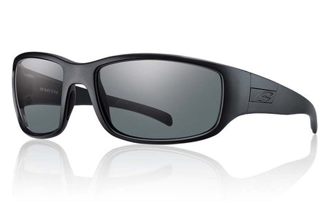 Smith - Prospect Elite Black Tactical Sunglasses, Polarized Gray Lenses