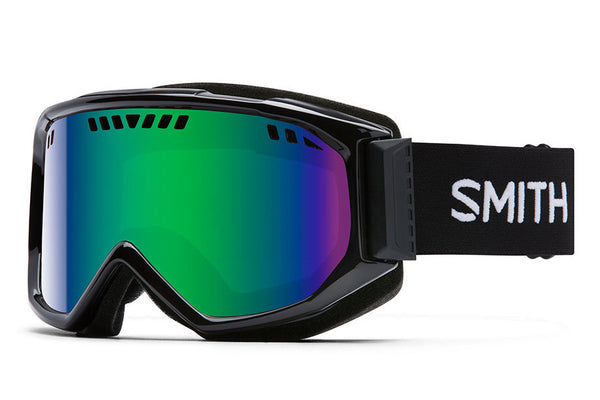 Smith - Scope Black Goggles, Green Sol-X Mirror Lenses
