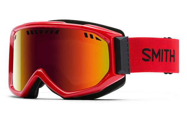 Smith - Scope Fire Goggles, Red Sol-X Mirror Lenses