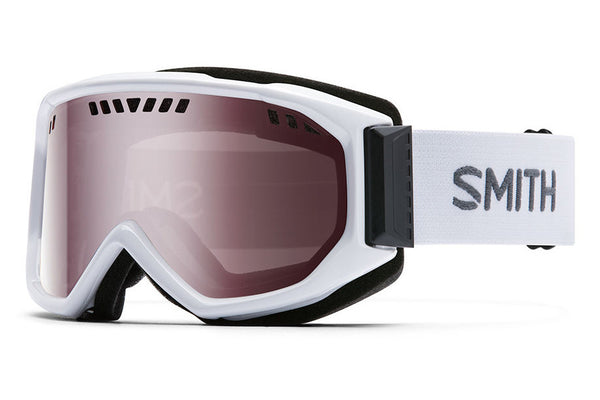 Smith - Scope White Goggles, Ignitor Mirror Lenses