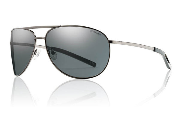 Smith - Serpico Gunmetal Sunglasses, Polarized Gray Lenses