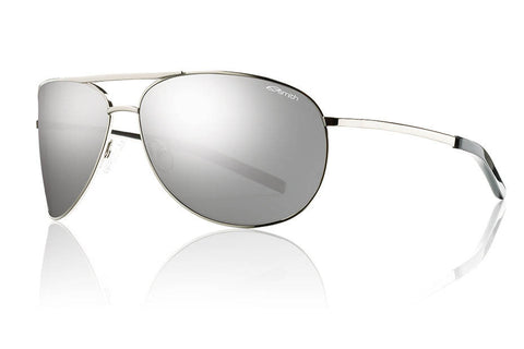 Smith - Serpico Silver Sunglasses, Polarized Platinum Lenses