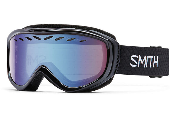 Smith - Transit Black Goggles, Blue Sensor Mirror Lenses
