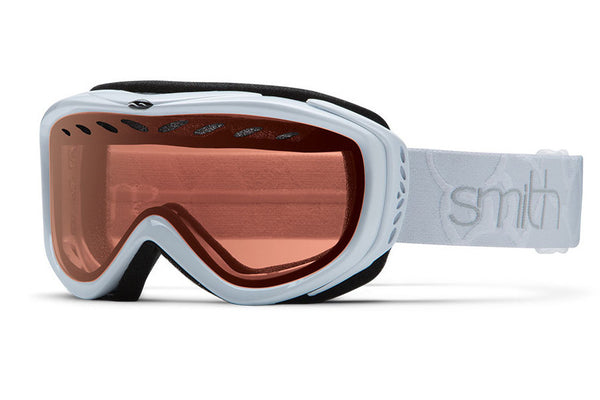 Smith Transit White Goggles, RC36 Lenses