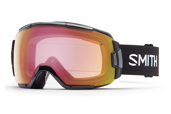 Smith - Vice Black Goggles, Red Sensor Mirror Lenses