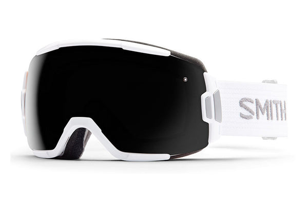 Smith - Vice White Goggles, Blackout Lenses