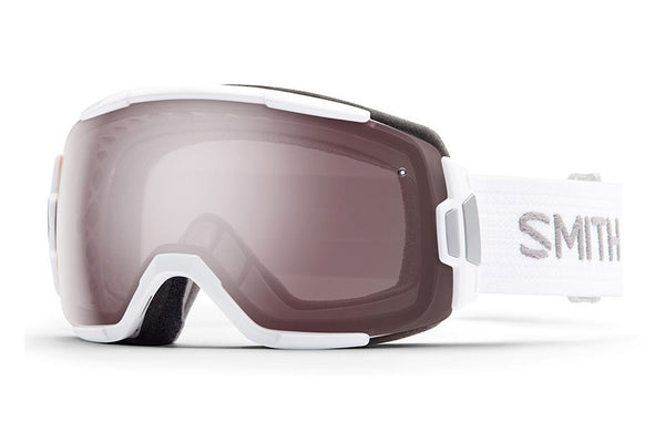 Smith Vice White Goggles, Ignitor Mirror Lenses