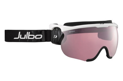 Julbo - Sniper L White / Black Goggles, Interchangeable Lenses